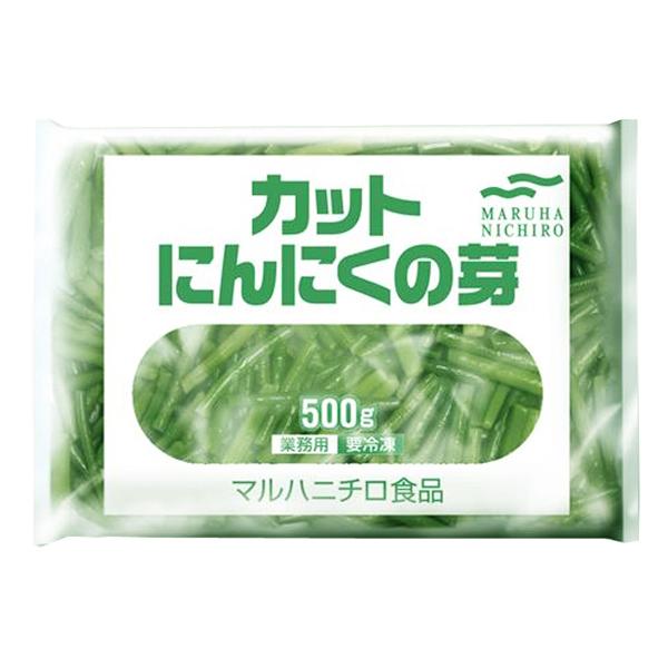 マルハニチロ カットにんにくの芽 500g