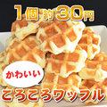 日本リッチ ベルギーワッフルS焼成品 18g 10個