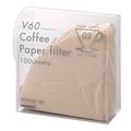 ハリオ V60 トランスペアレントペーパーフィルター VCFT-02-100M