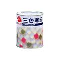 天狗 三色寒天 2号缶(920g)