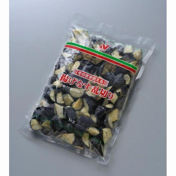 ニチレイ そのまま使える揚げなす乱切り(タイ産) 1kg