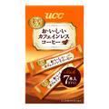 UCC おいしいカフェインレスコーヒー(スティック)7P 箱