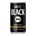 UCC BLACK無糖 缶185g 30本