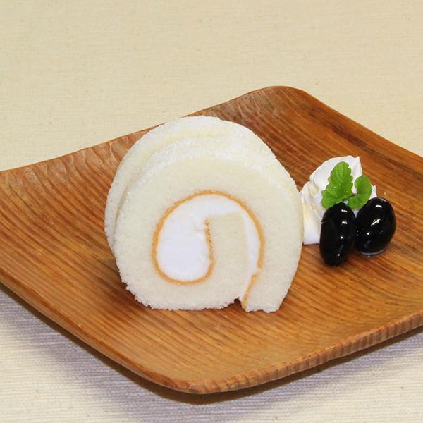 日東ベスト 細巻ロールケーキ(藻塩バニラ) 210g(20カット)