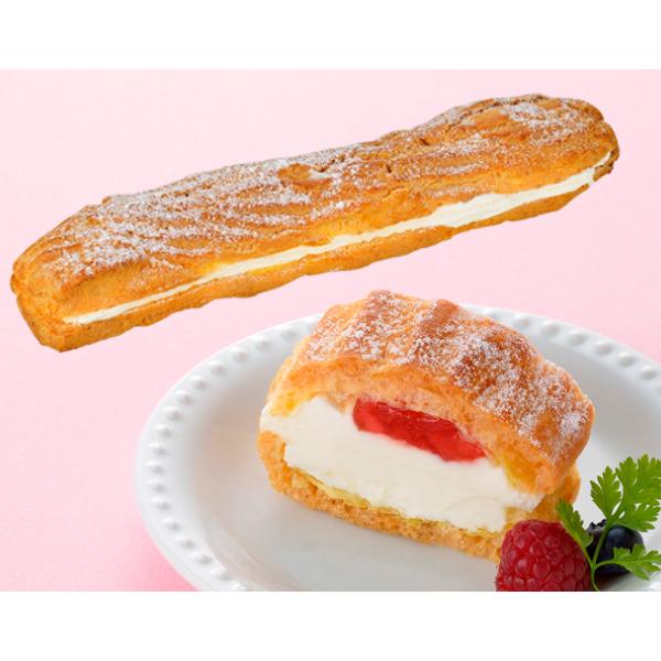 フレック フリーカットケーキ シュークリーム(いちご)335g