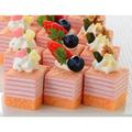フレック GFC422 ミニカットケーキ ミルクレープ (いちご) 48カット