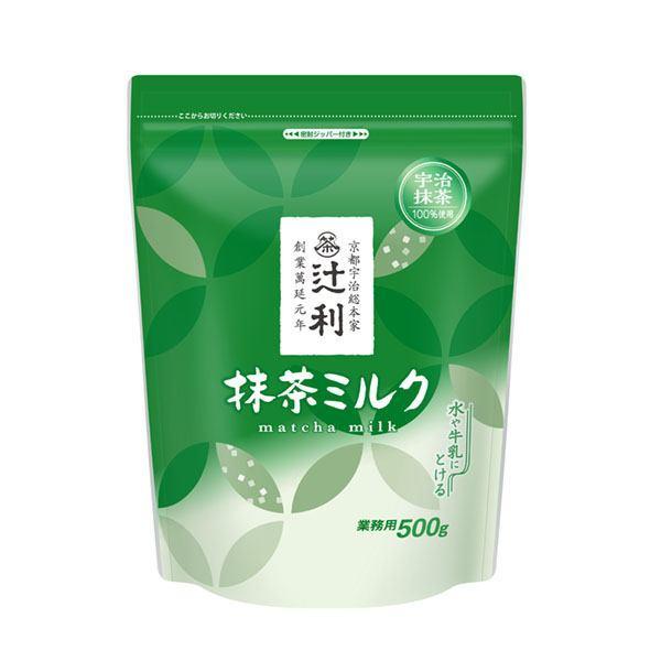 辻利 抹茶ミルク(業務用) 500g 袋