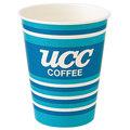 UCC ロゴ入り紙カップ 9オンス 100個