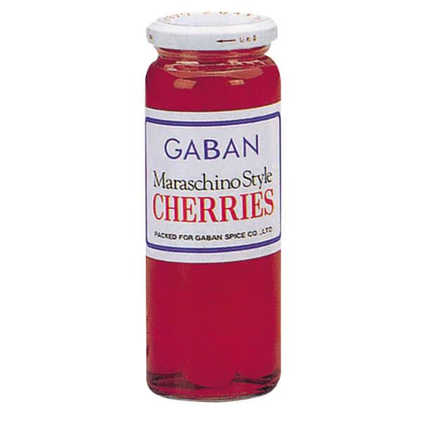 ギャバン マラスキノチェリー赤 220g 瓶