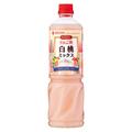 ミツカン ビネグイットりんご酢白桃ミックス(6倍濃縮タイプ)1L