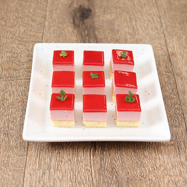 ベルリーベカットケーキ ストロベリー(とちおとめ苺果汁使用)冷凍 49個