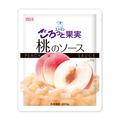 スノーマン ごろっと果実 桃のソース 冷凍 200g