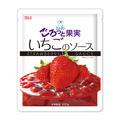 スノーマン ごろっと果実 いちごのソース 冷凍 200g