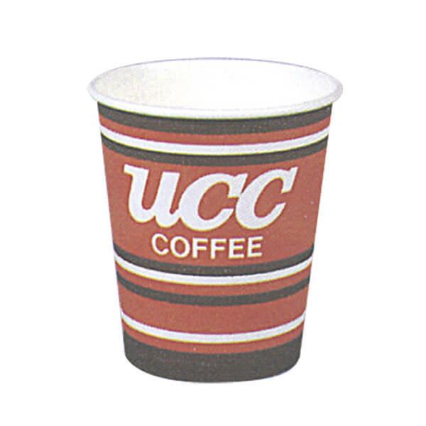 UCC ロゴ入り紙カップ 7オンス 80個